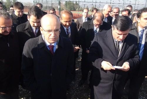 Maliye Bakanı Şimşek, Hastane Açtı