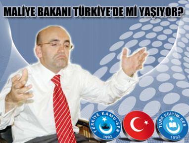 MALİYE BAKANI TÜRKİYE'DE Mİ YAŞIYOR?...