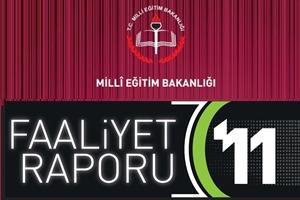 MEB 2011 Yılı Faaliyet Raporunu Yayımladı