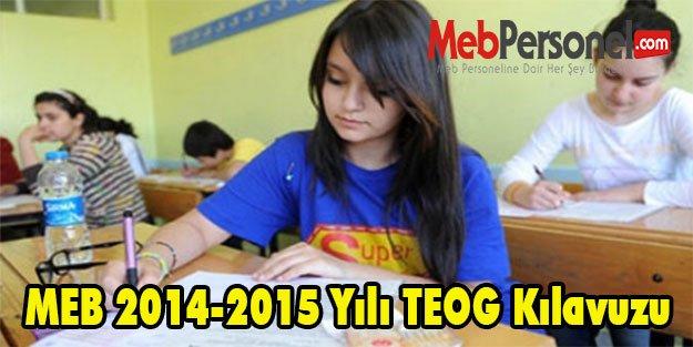 MEB 2014-2015 Yılı TEOG Kılavuzu