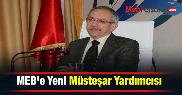 MEB#039;e Yeni Müsteşar Yardımcısı
