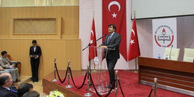 MEB Müsteşarı Yusuf Tekin Ankara İl Milli Eğitim Müdürlüğünü Ziyaret Etti