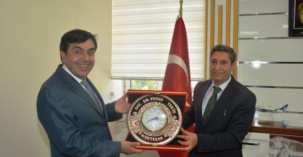 MEB Müsteşarı Yusuf Tekin'den Malatya MEM'e Ziyaret