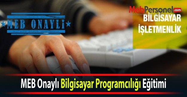 MEB Onaylı Bilgisayar Programcılığı Eğitimi