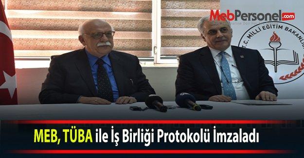MEB, TÜBA ile İş Birliği Protokolü İmzaladı