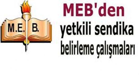 MEB Yetkili Sendika Belirleme Çalışması