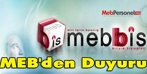MEB'den Duyuru