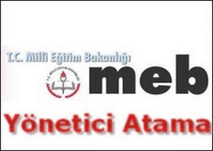 MEB'e öneri olarak sunulan  Yönetici atama yönetmeliği taslağı