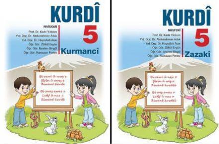 MEB'in Kürtçe ders kitapları hazır