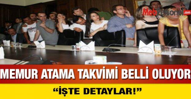 Memur Atama Takvimi Belli Oluyor! iŞTE Detaylar