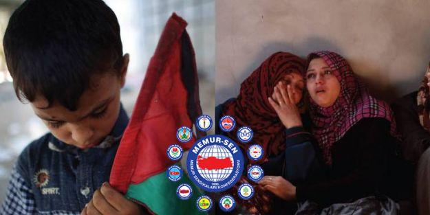 Memur-Sen'den Gazze'ye Yardım Kampanyası