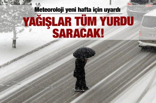 Meteoroloji, yeni yağışlar konusunda vatandaşların dikkatli olmasını istedi.