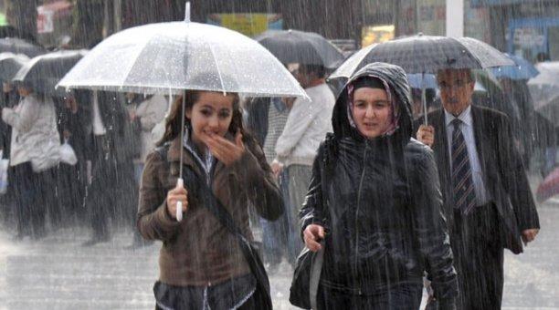Meteoroloji'den 9 İl'e şiddetli ve kuvvetli yağış uyarısı