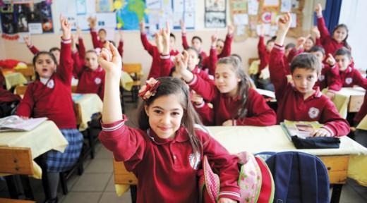 Miniklerde okul heyecanı