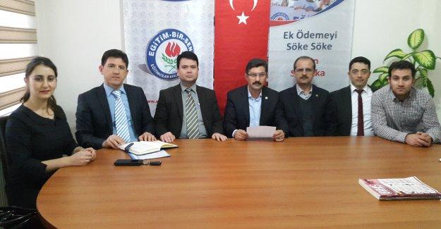 Muğla Eğitim Bir Sen'den Türk Eğitim Sen'e cevap