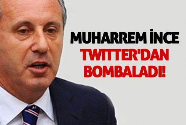 MUHARREM İNCE MEB'İ TWİTTER'DEN BOMBALADI !