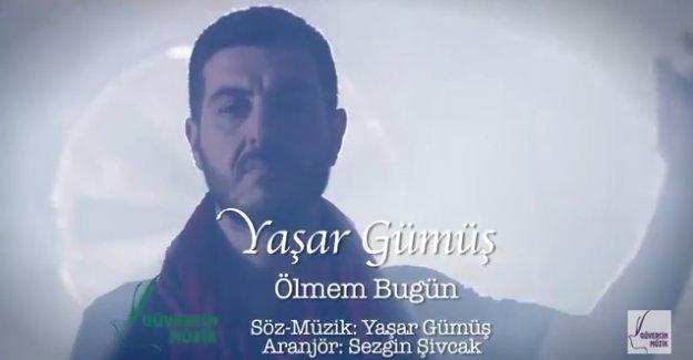 """Müzik Öğretmeni Yaşar Gümüş  İlk Klibini """"Ölmem Bugün"""" Parçasına Çekti"""