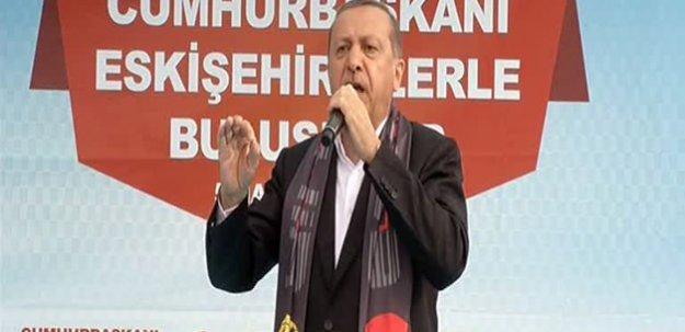 Nabi Avcı'nın seçim bölgesinde Cumhurbaşkanına ilgi yoğundu