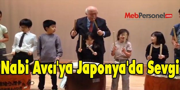 Nabi Avcı'ya Japonya'da Sevgi