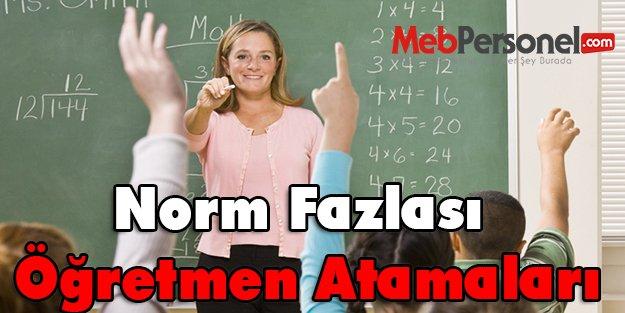 Norm Fazlası Öğretmen Atamaları Şubat Ayında