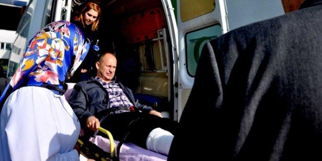 Öğrenci Velisi, Okul müdürünü hastanelik etti