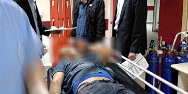 Öğrenci yakınları okulu bastı, öğretmen bıçakladı