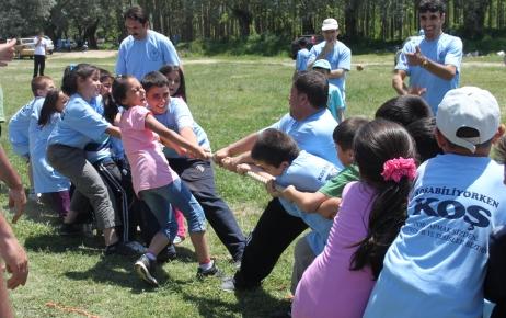 Öğrenciler, 'Koşabiliyorken Koş' etkinliğinde stres attı