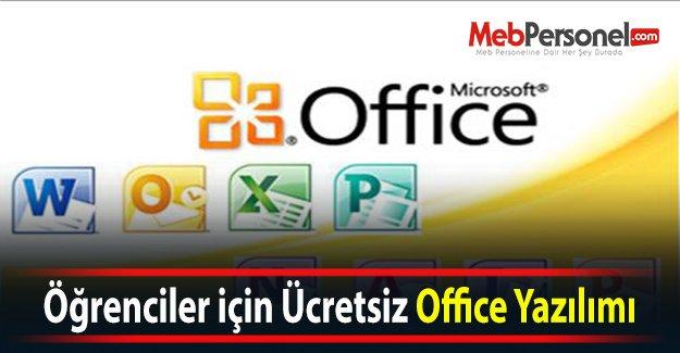Öğrenciler için Ücretsiz Office Yazılımı