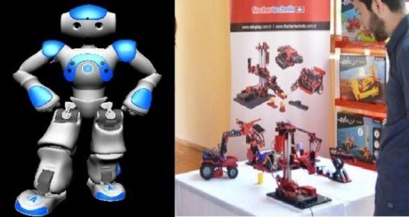 Öğrenciler robotlarla gelişiyor