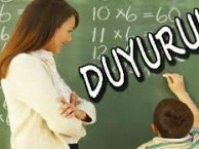 Öğretmenlerin Puanları Güncelleniyor!!!