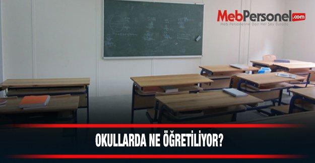 Okullar ne öğretiyor?