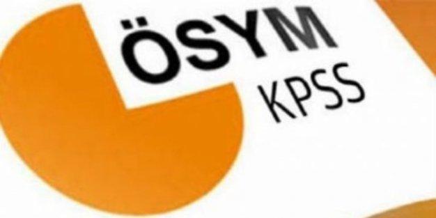 ÖSYM'den KPSS için uyarı
