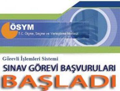 ÖSYM'nin Görevli İşlemleri Sistemi  (http://gis.osym.gov.tr)