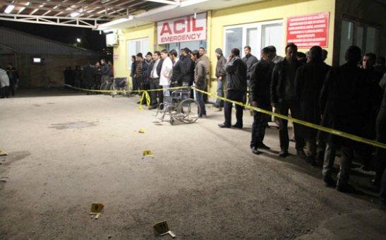 Polis aracına silahlı saldırı 1 Şehit