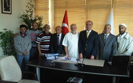 Romanlardan Türk Kızılayı'na ziyaret