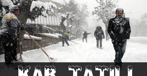 Sakarya ve Tokat'ta okullar yarın da tatil