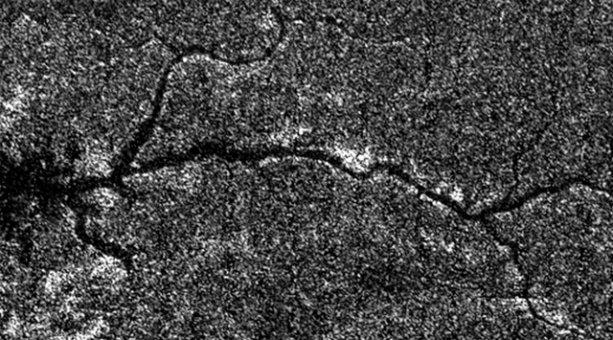 В космосе найдена  река Нил