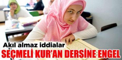 Seçmeli Kur'ân dersine 'öğretmen yok' engeli