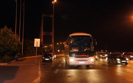 Şehirler arası yolcu otobüsleri Boğaziçi Köprüsü'nü de kullandı