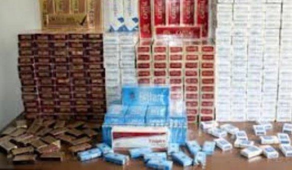 Şemdinli'de 2 bin paket kaçak sigara ele geçirildi