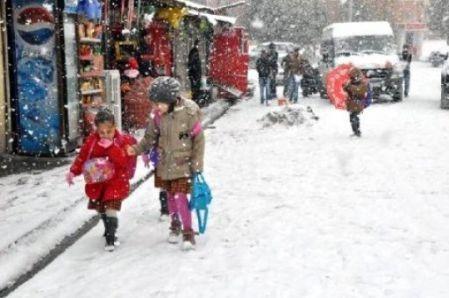 Siirtte Okullar 1 Günlük Kar Tatili 9 Ocak