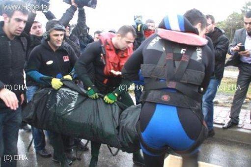 Şile'de kaybolan kurtarma personelinin cesedine ulaşıldı