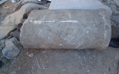 Simav'da inşaat temelinden tarihi eser çıktı.