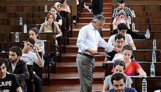 Sınav salonlarına kameralı takip