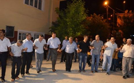 Şirvan'da askere giden gençler için eğlence tertiplendi