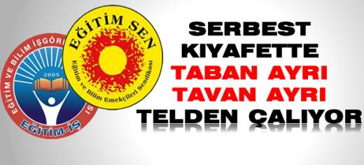 SOL SENDİKALAR'IN SERBEST KIYAFET ALERJİSİ
