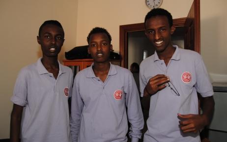 Somalili öğrenciler üniversiteyi bitirmeden ülkelerine dönmek istemiyor