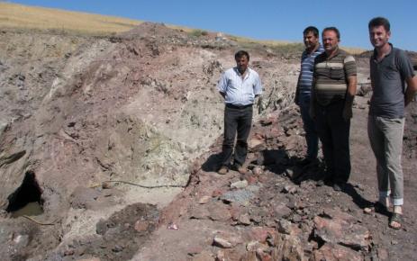 Sorgun'da 1 milyon ton rezervli manganez madeni köylüleri umutlandırdı
