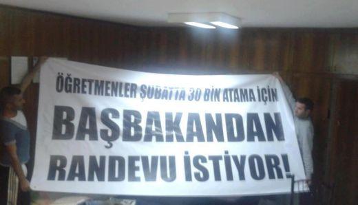 Şubatçılar Başbakandan Randevu Almak İçin Abdi İpekçi Parkında  Oturma Eylemi  Yapacak