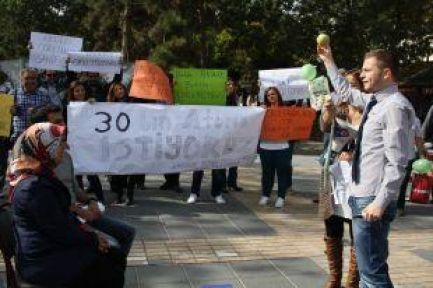Şubatçılar Kayseri Grubu  Şubatta 30 bin öğretmen ataması Eylemi